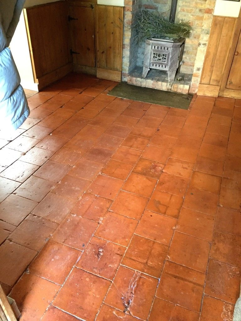 When you have a quarry tiled floor like this one that is well over when you have a quarry tiled floor like this one that is well over a century dailygadgetfo Choice Image