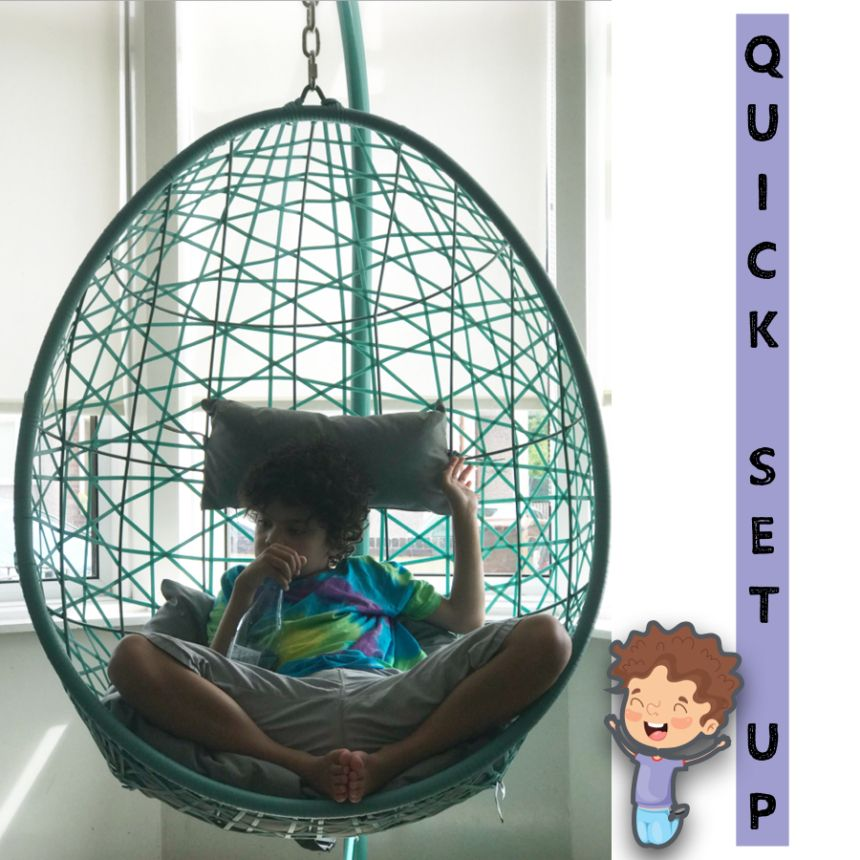 Self Standing Hanging Egg Chair for Indoor Use Hanging