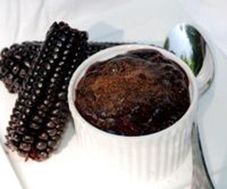 Delicious Peruvian Purple Corn Pudding