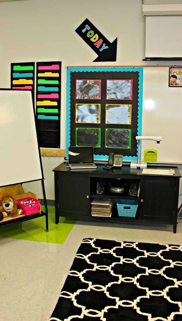 desk is rolls it decor teacher pin dotted wallpaper took paper two the
