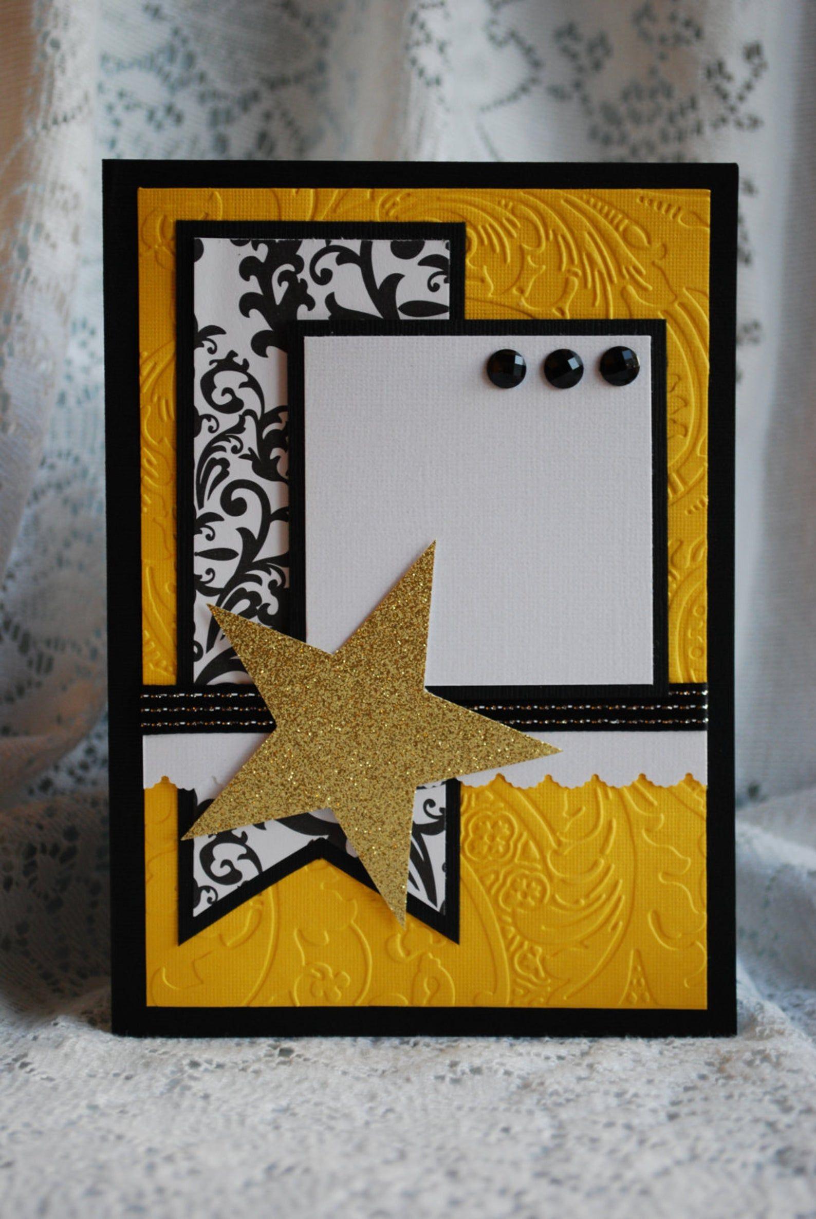 Handmade 3D Multi Layered Paper Greeting Card Paper