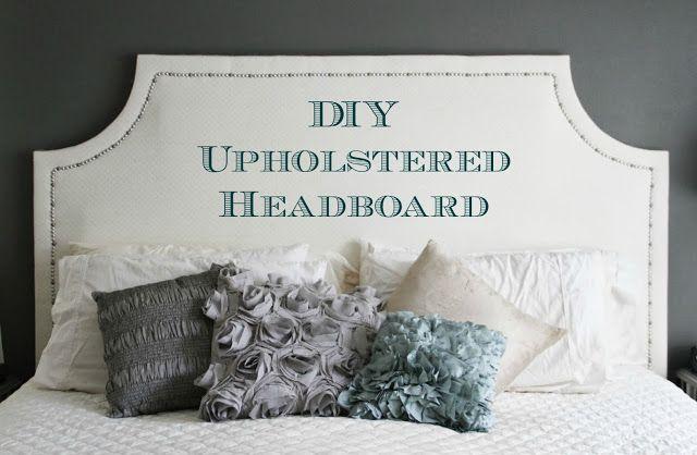 Running From The Law Diy Upholstered Headboard Diy Headboard