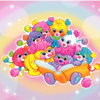 Popples! 1980s fav! I still have the one that turns into a soccer ball. Wish I still had all of them.