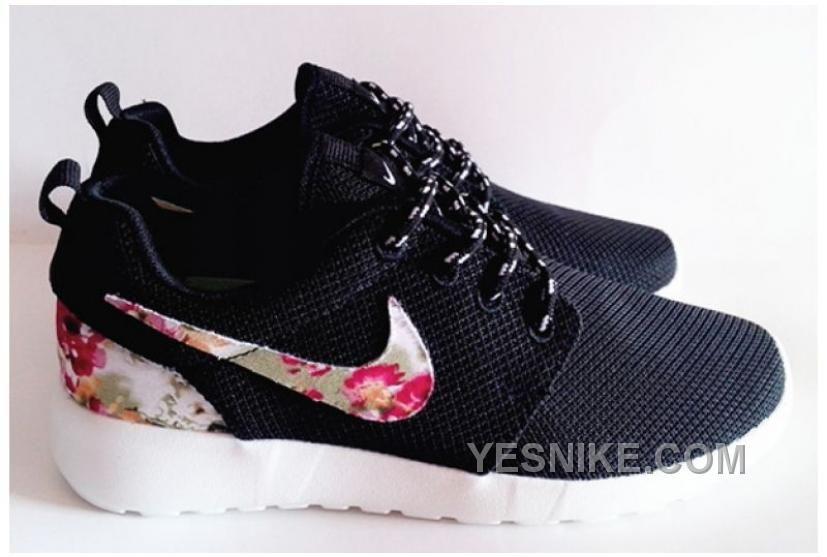 05a189c7ebb ... where can i buy unisex shoes nike roshe run floral 2015 black 755ff  d4eaf