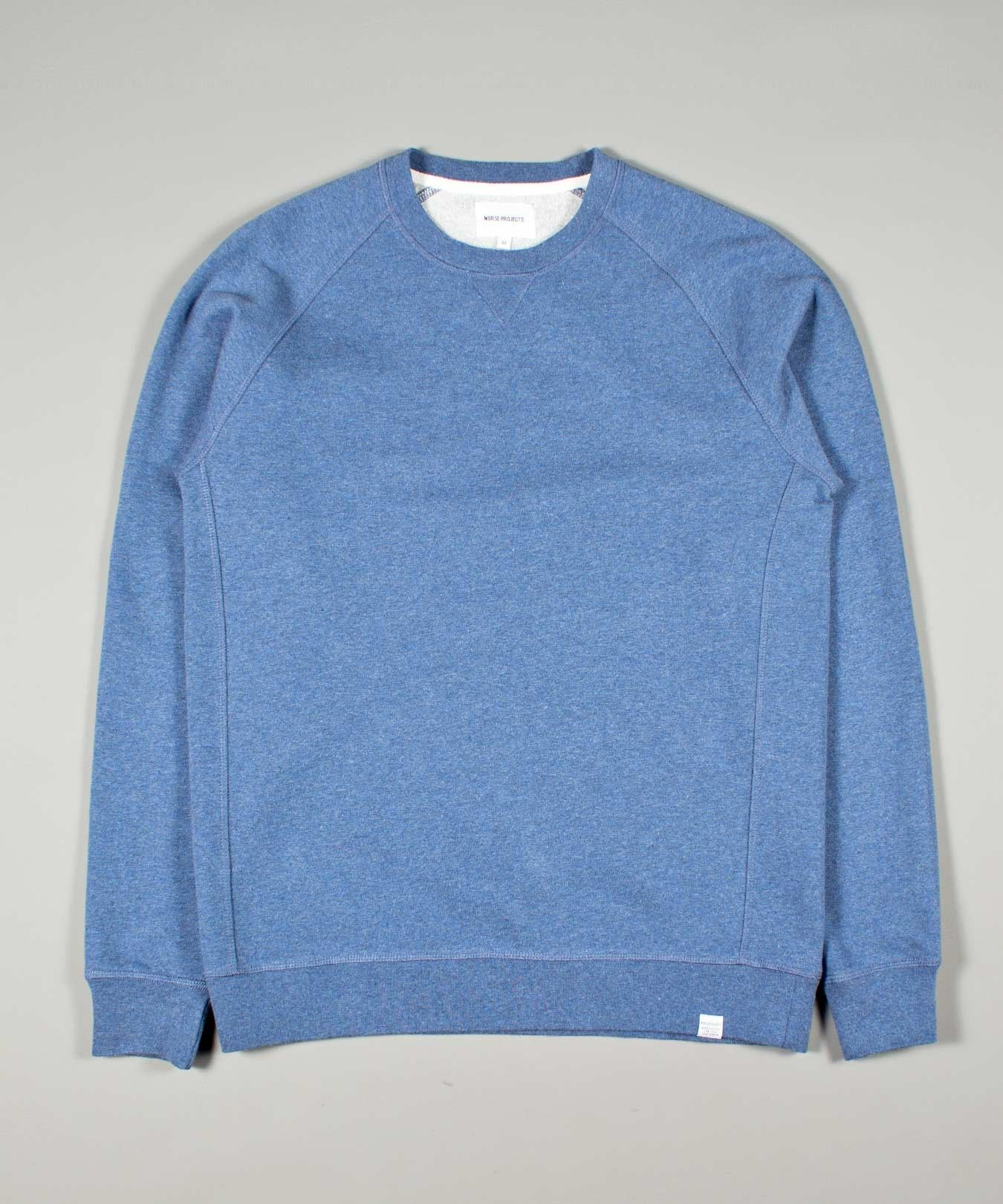 Norse Projects at Weavers Door | Norse Projects | SS15 | Ketel Solid Brushed | Blue Melange | £85.00 & Norse Projects at Weavers Door | Norse Projects | SS15 | Ketel Solid ...