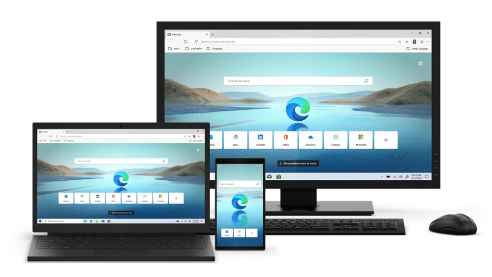 The New (Chromiumbased) Microsoft Edge Browser has been