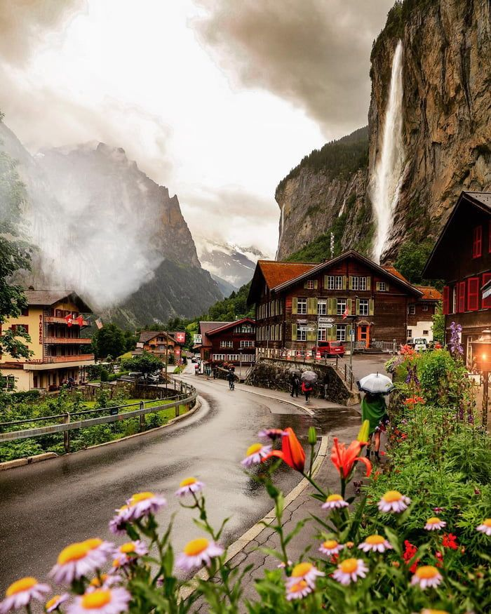Amazing Places To Stay Switzerland: A Rainy Day In Switzerland In 2019