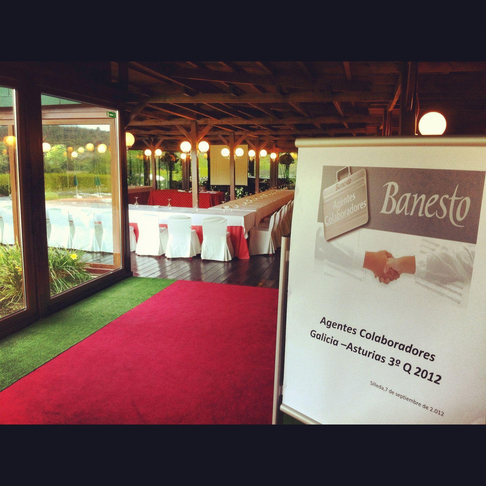 Reuniones de empresa y almuerzos de trabajo banesto - Casa rural lalin ...