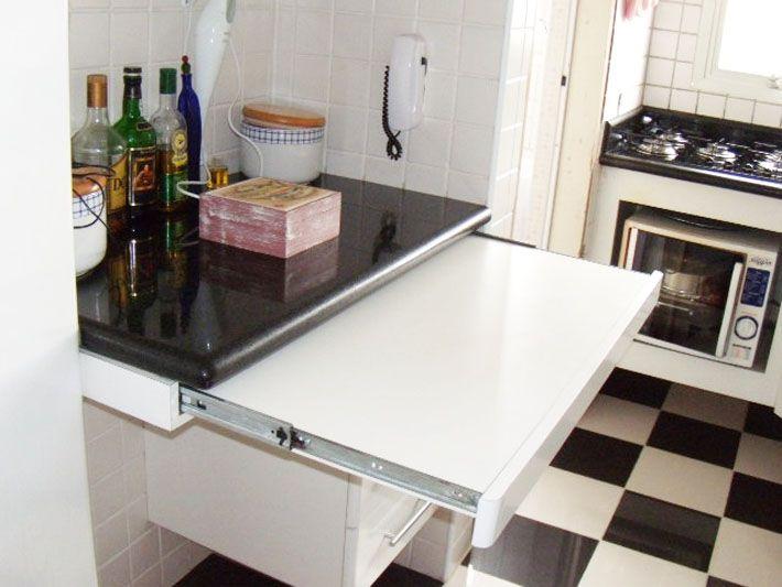 Mesas para cozinhas ou salas de jantar pequenas Ideias para a casa ...