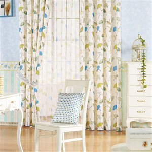 Modern kids curtains with cute Umbrella patterns