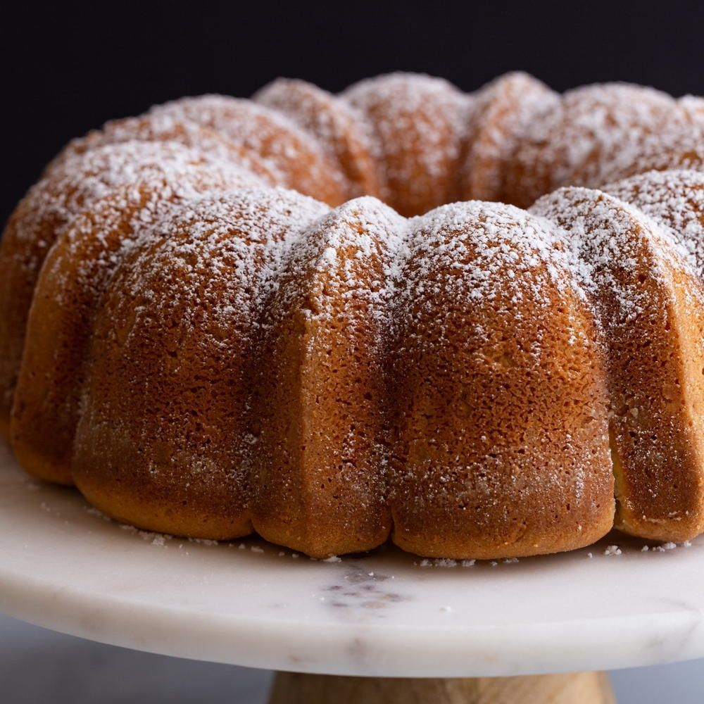 Basic Sour Cream Pound Cake Sour Cream Pound Cake Best Sour Cream Pound Cake Recipe Sour Cream Cake