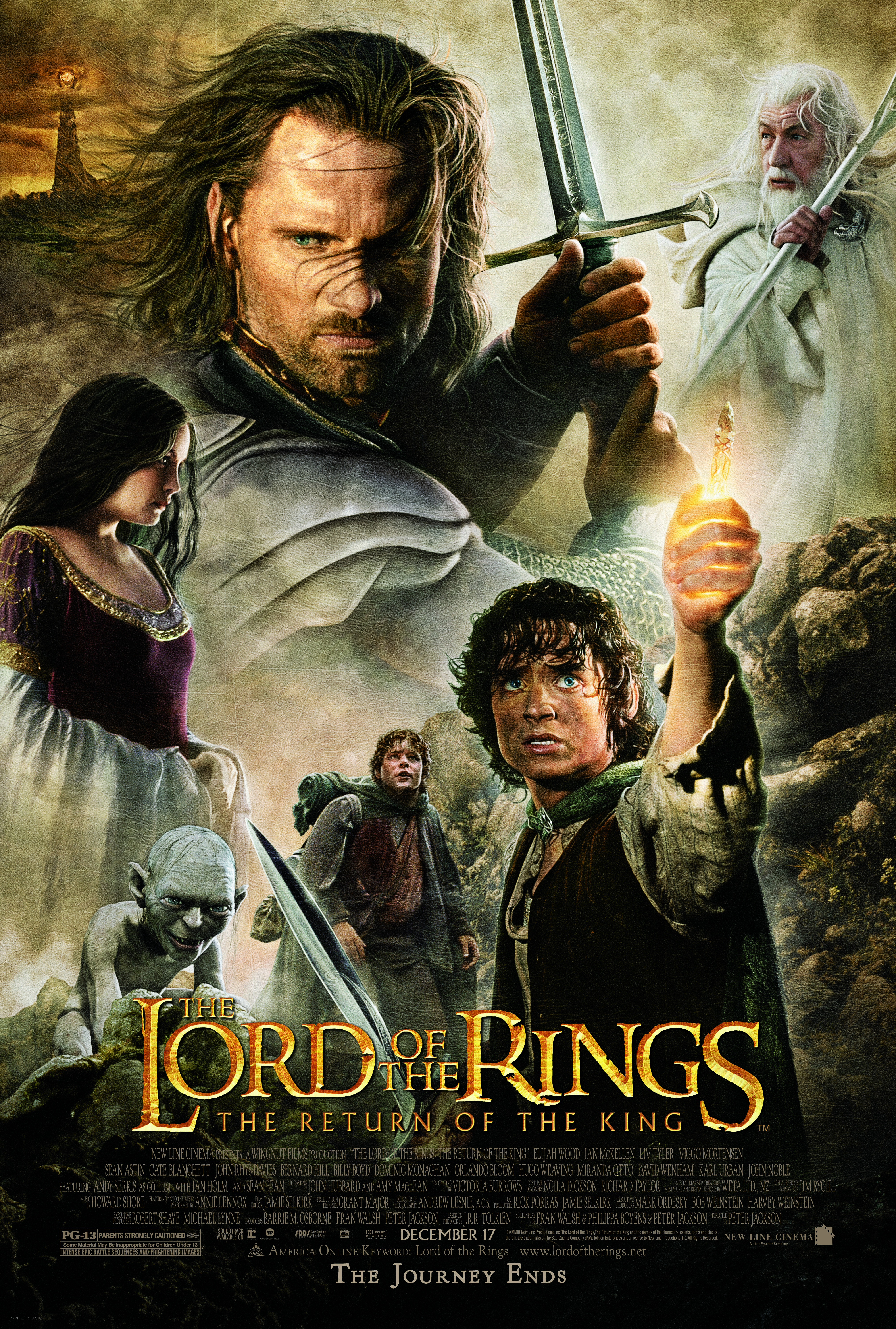 The Lord Of The Rings The Two Towers 5   Poster Greatest Movies Classic Films