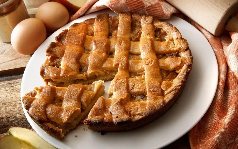 яблочный пай рецепт с фото детей