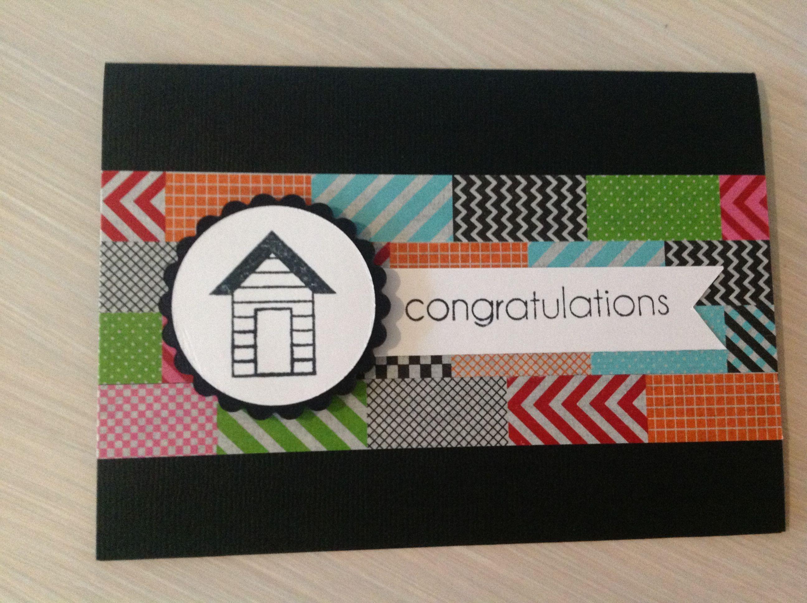Card Making Ideas For Housewarming Part - 43: Housewarming Card · Diy PresentsHousewarming ...