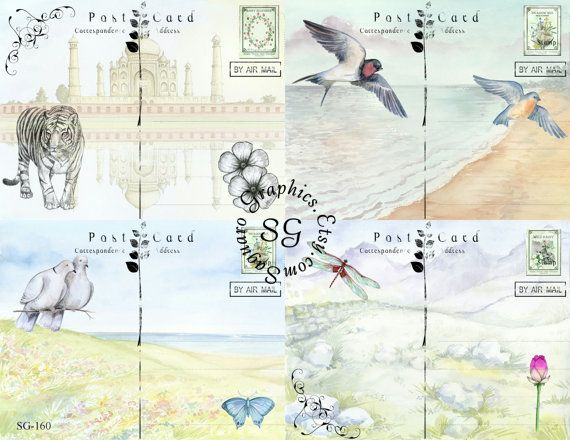 Hey, I found this really awesome Etsy listing at http://www.etsy.com/listing/155426742/peaceful-postcards-sg160-425-x-55-inch