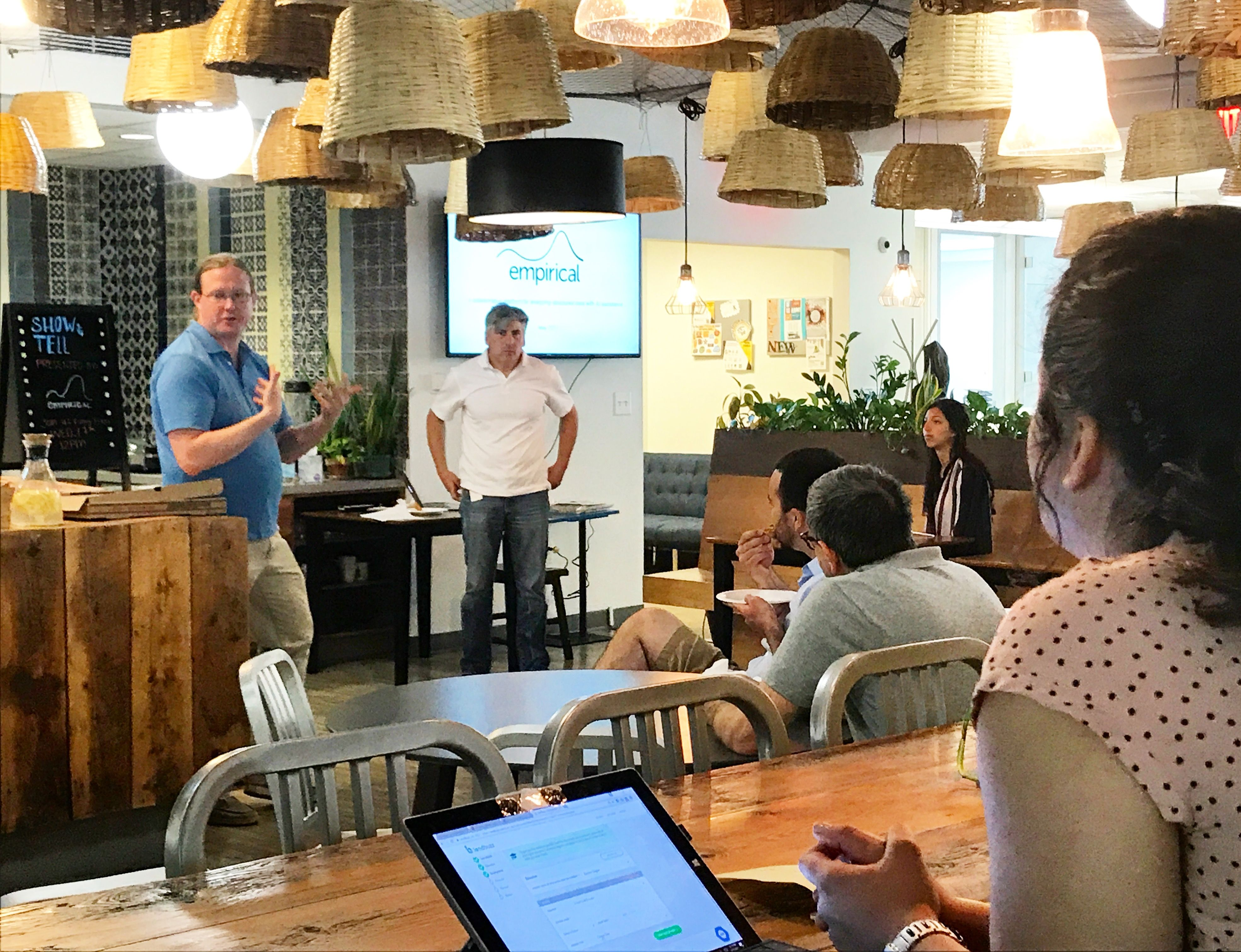 NGIN Workplace - community events Lunch & Learn