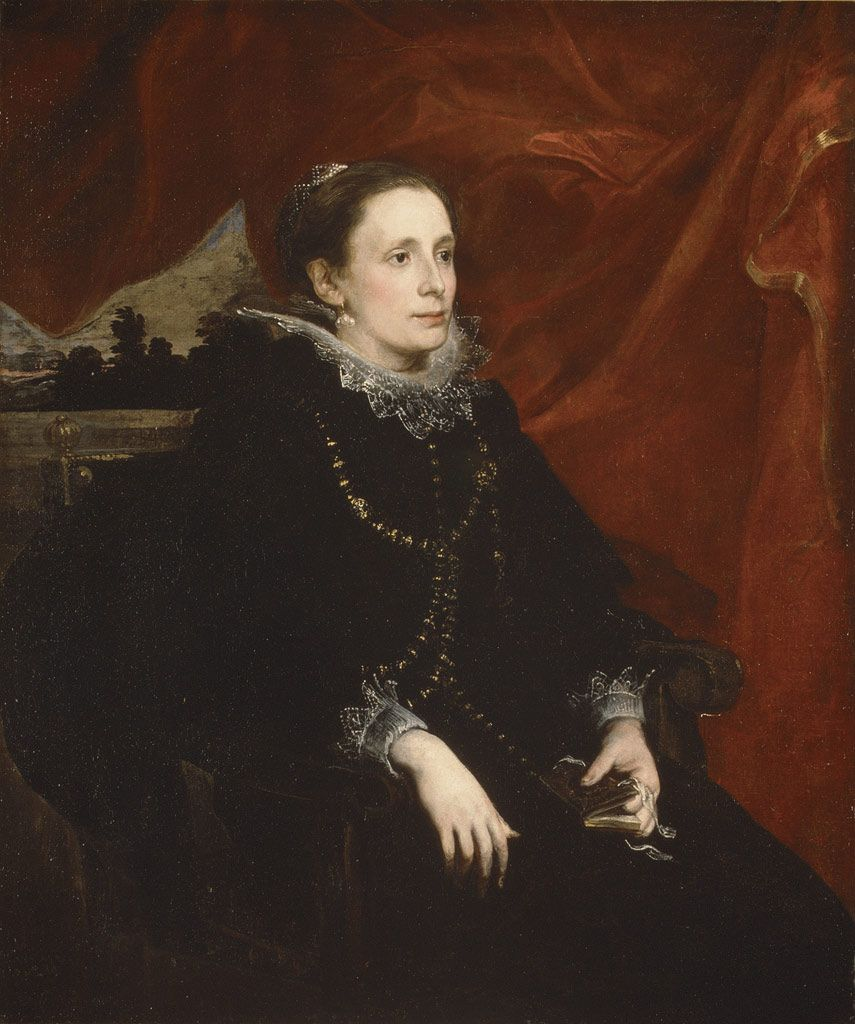 Portrait of a Woman, Called the Marchesa Durazzo | 1621–27 | Anthony van Dyck (Flemish) | Oil on canvas | (14.40.615)