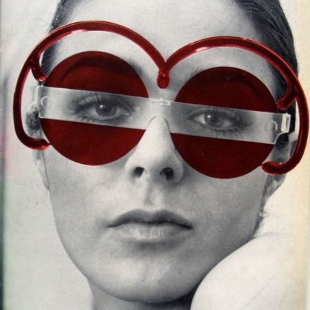 Clip Stamp Fold The Radical Architecture Of Little Magazines At The Architectural Association Dezeen Funky Glasses Vintage Glasses Round Eyewear