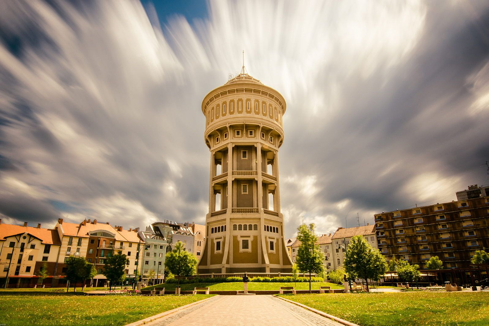 """""""Old Lady"""" Water Tower by Péter Hegedűs on 500px"""