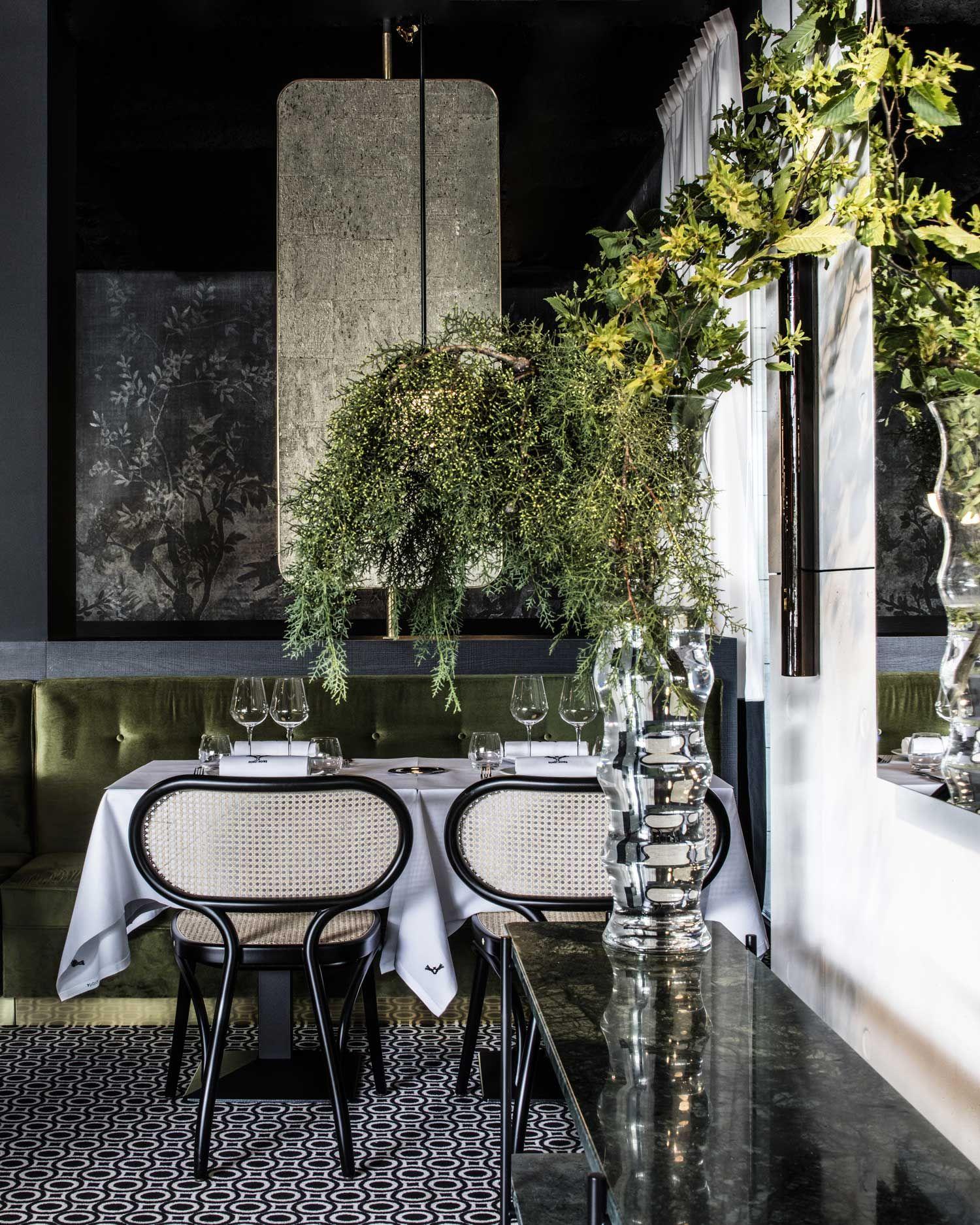 La Foret Noire Restaurant In Chaponost France By Claude