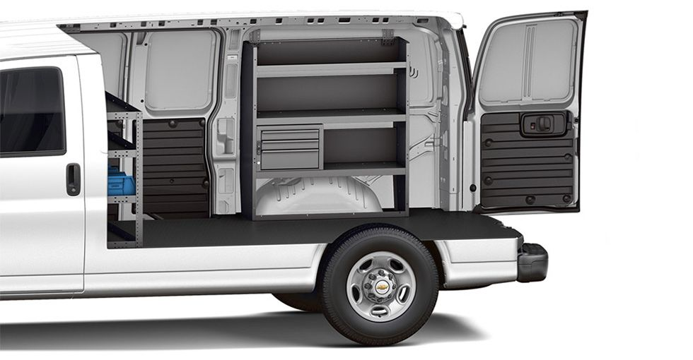 2016 Express Cargo Van Work Van Cargo Van Chevy Express Express Cargo