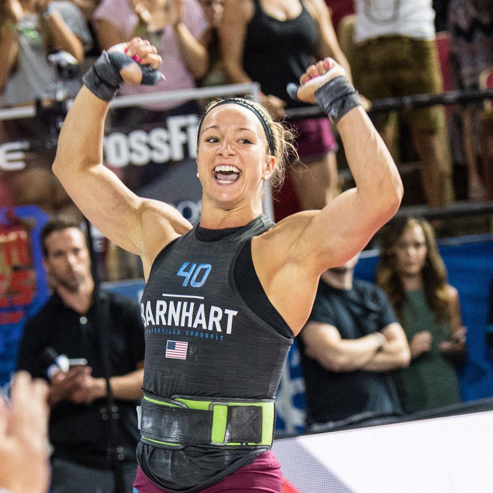 Amanda Barnhart 🇺🇸 just earned her first CrossFit Games