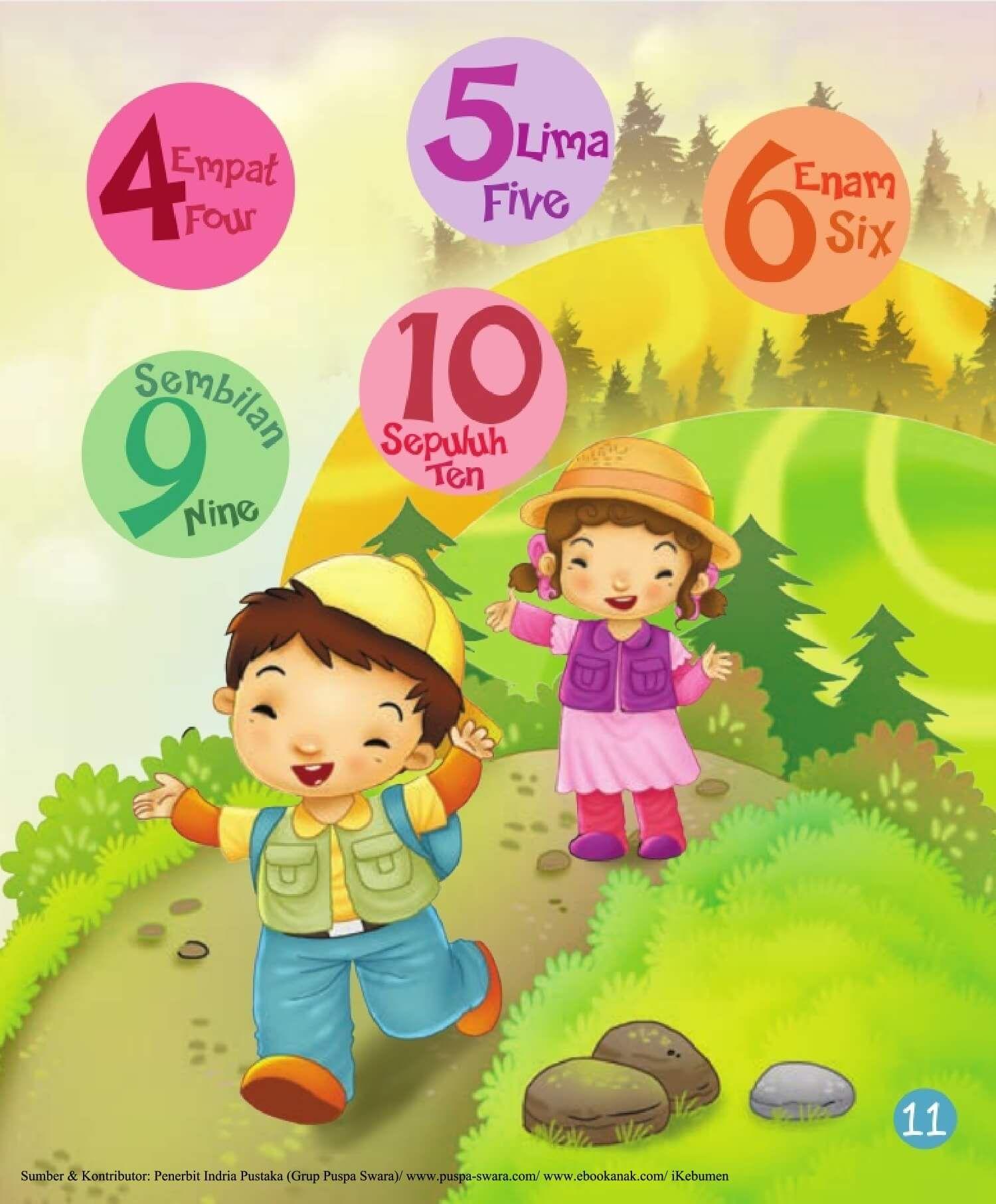 Ebook 2 In 1 Dongeng Dan Aktivitas Bukit Angka Bernyanyi 13 Dongeng Bernyanyi Anak