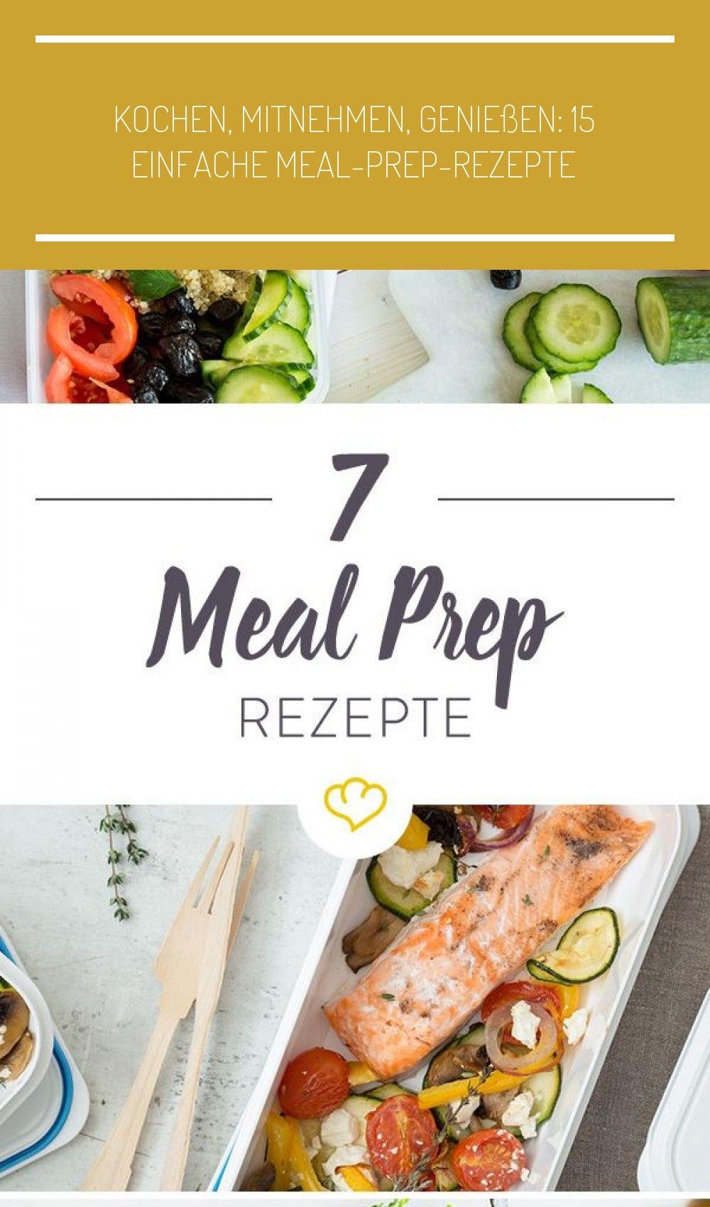 Meal Prep steht für Vorkochen und Mitnehmen der Mahlzeiten. Hier erfährst du etwas mehr zu dem neuen...
