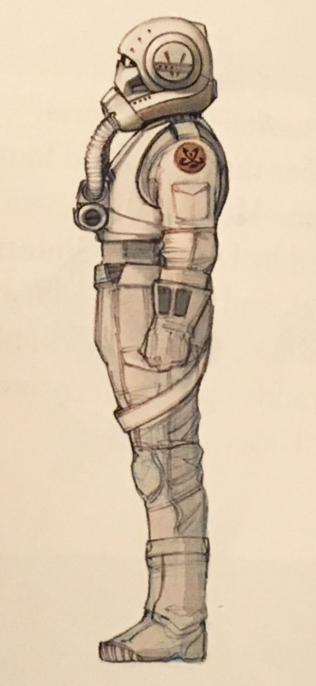Concept Art Of A Clone Trooper Pilot From Star Wars Episode Iii Revenge Of The Sith 2005 Star Wars Concept Art Star Wars Art Star Wars Ships