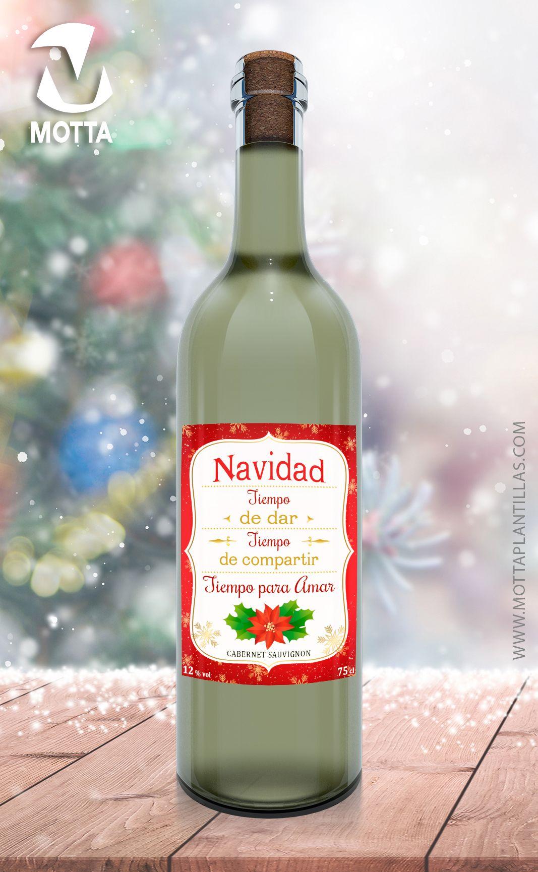 Etiqueta de botella de vino de Navidad etiqueta de vino   Etsy   Wine  bottle, Bottle, Rosé wine bottle