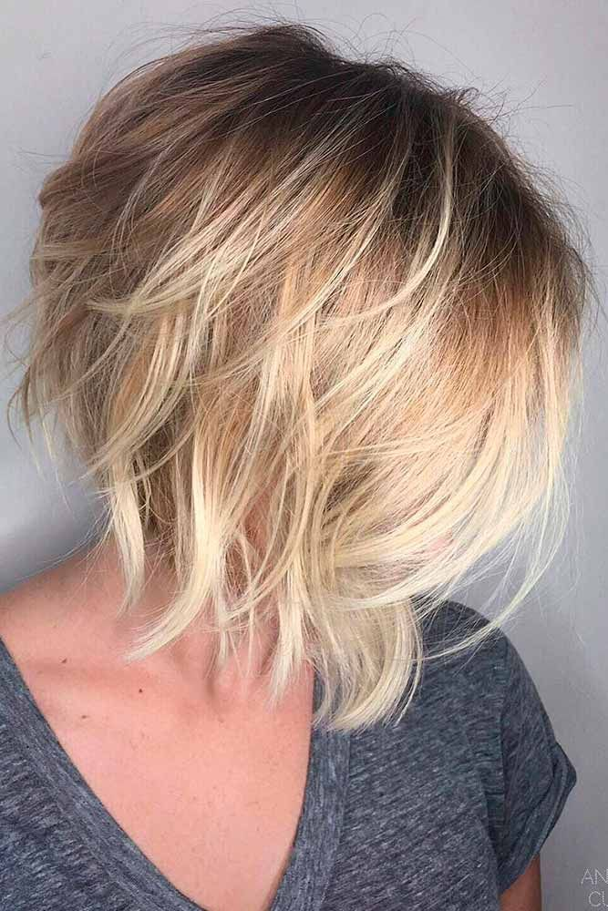 classy and fun -line haircut ideas