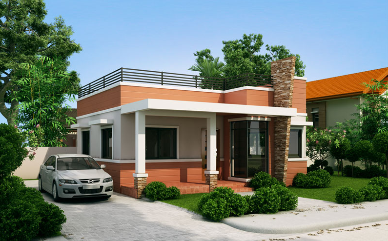 Small storey with roofdeck house designer and builder story class   also rh pinterest