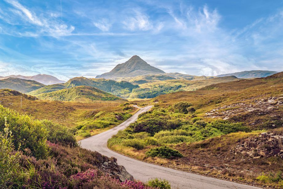 Climbing Ben Stack: A perfect, conical mountain whose paths are adorned with bluebells, violets and orchids - Country Life