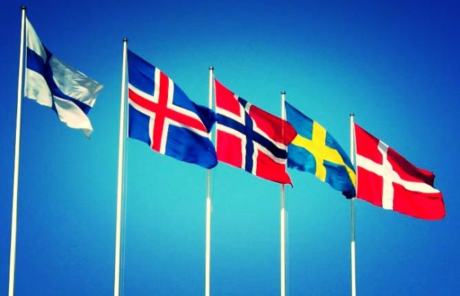 How The Scandinavian Way Of Life Can Make You Happier Nordic Nordic Countries Flag