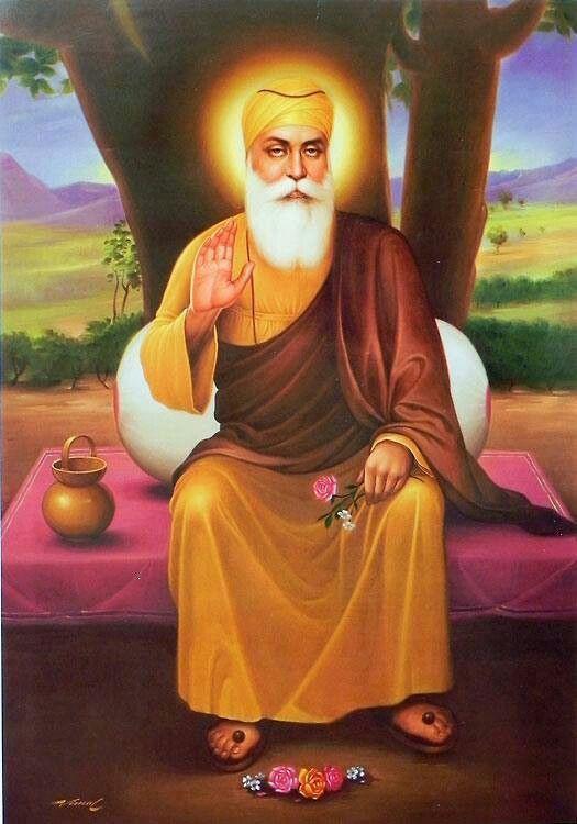 Pin on religious - Guru nanak dev ji pics hd ...