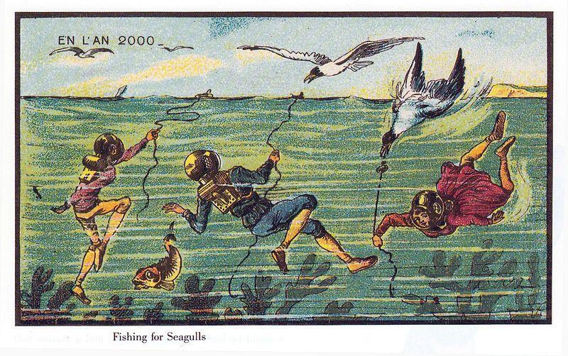 Fishing For Sea Gulls