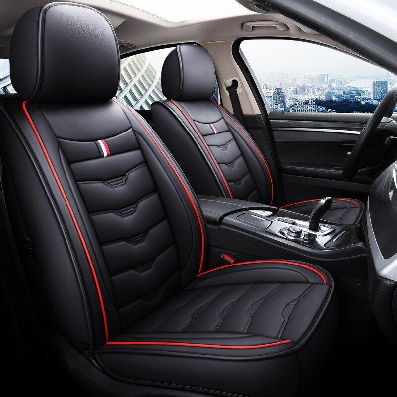 1pcs Leather Car Seat Cover Case Cushion Auto Accessories For Kia Rio Morning Stinger Niro Cerato Sorento Stonic S Leather Car Seat Covers Car Seats Seat Cover