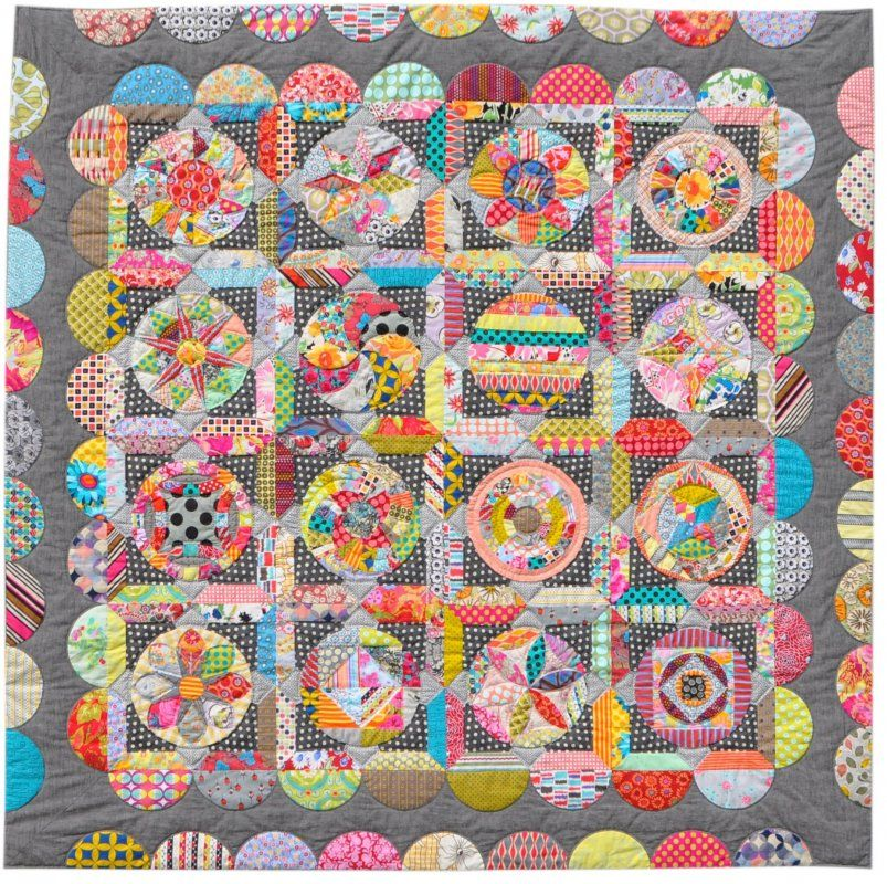 The Circle Game Pattern Booklet by Jen Kingwell Designs, seen at ... : quilts by jen - Adamdwight.com