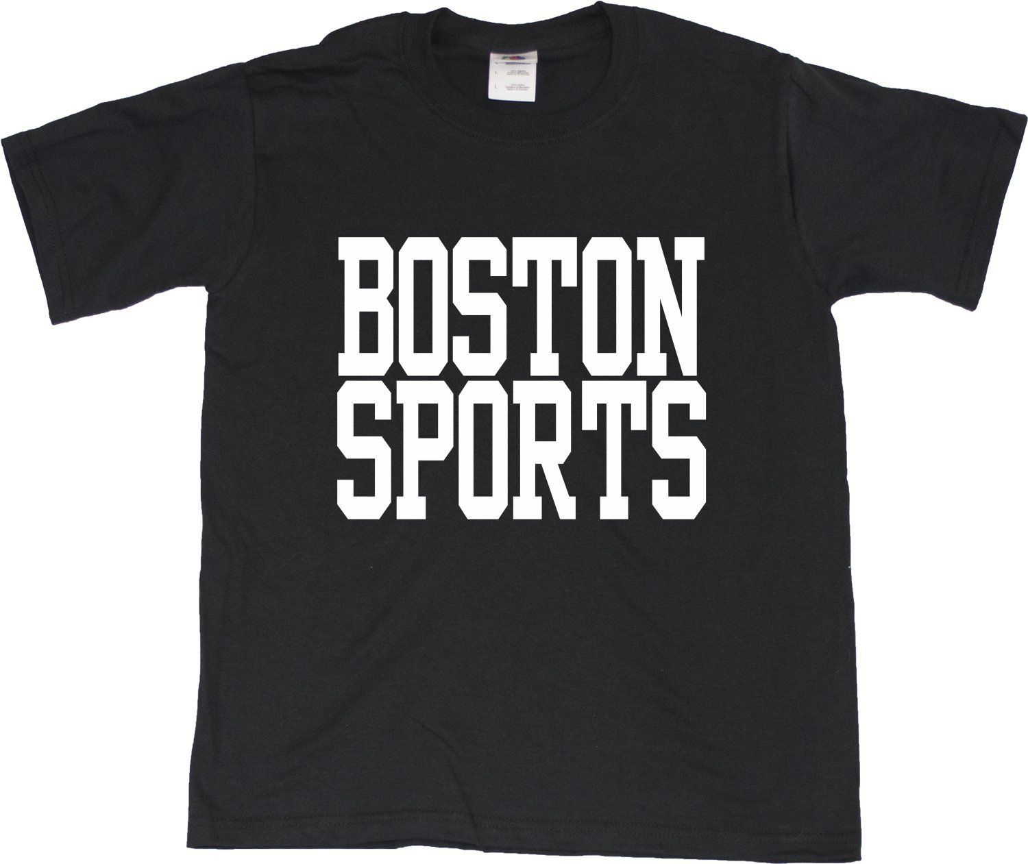 BOSTON SPORTS Youth T-shirt - Bruins, Red Sox, Patriots, Celtics Fan Tee 2T