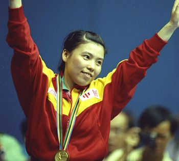 Laureus World Sports Academy Member Deng Yaping widely acclaimed as the greatest female player in table tennis history. She was the top-ranked woman in the world for eight consecutive years from 1991.