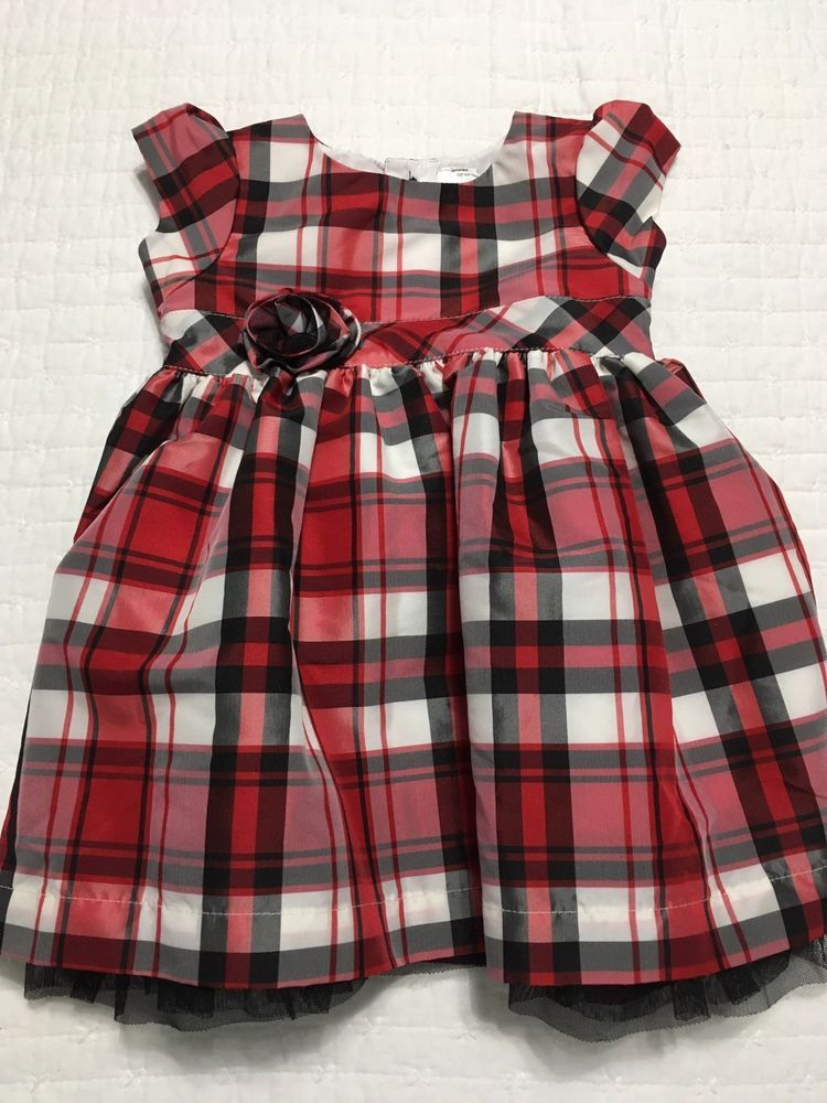 ad20fed0180 Carters 6 Month Girl RED Festive Plaid Dress (EUC) (B011)  fashion   clothing  shoes  accessories  babytoddlerclothing  girlsclothingnewborn5t  (ebay link)