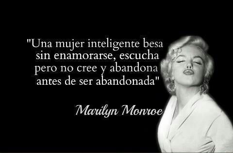 Una Mujer Cabrona Inspirational Marilyn Monroe Quotes Spanish