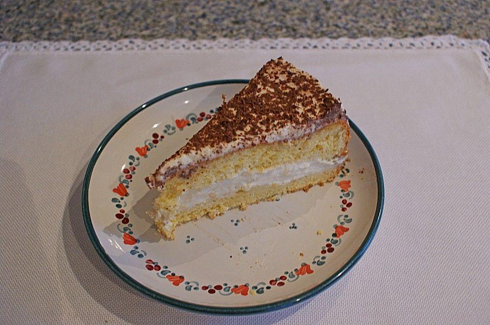 Geheime Rezepte Kaffeecreme Torte Am Vortag Zubereiten