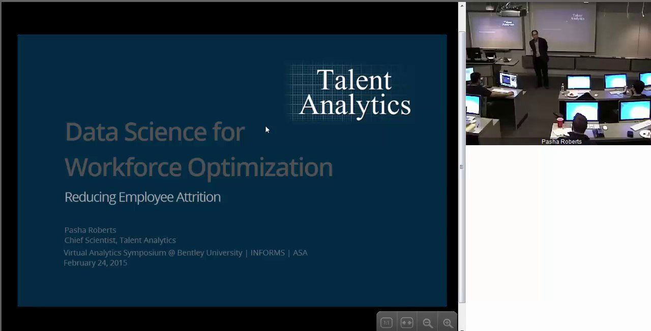 Data Science for Workforce Optimization: Employee Attrition | Big