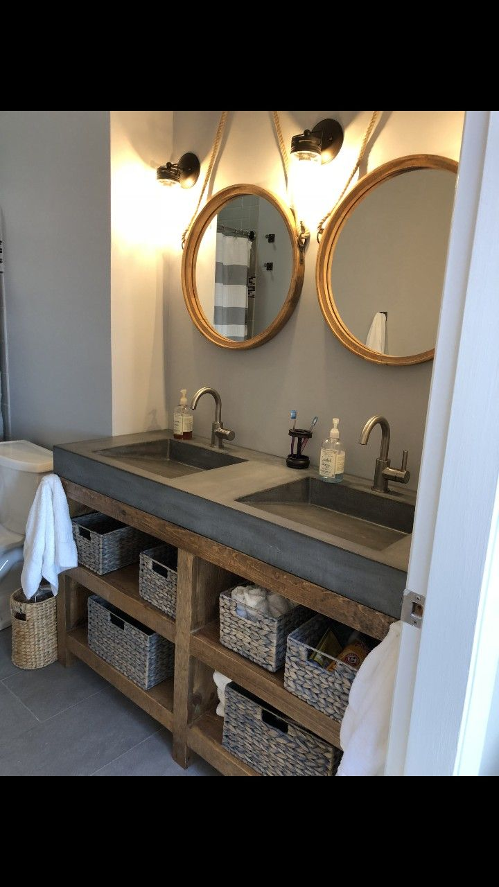Pin On Concrete Sinks And Vanities