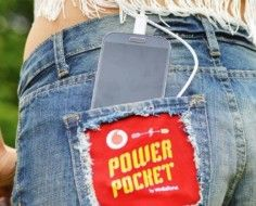 Vodafone's Shorts Charge Festival Goers' Phones