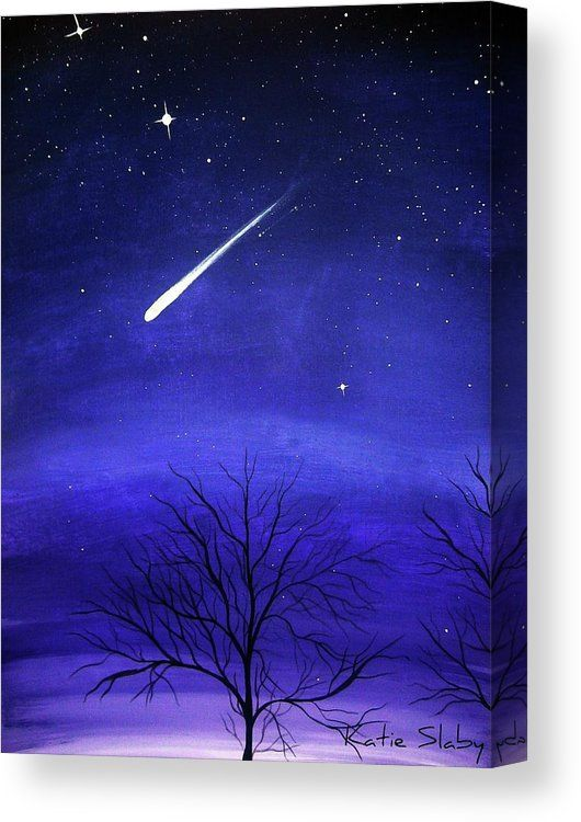 When Stars Fall Canvas Print / Canvas Art by Katie