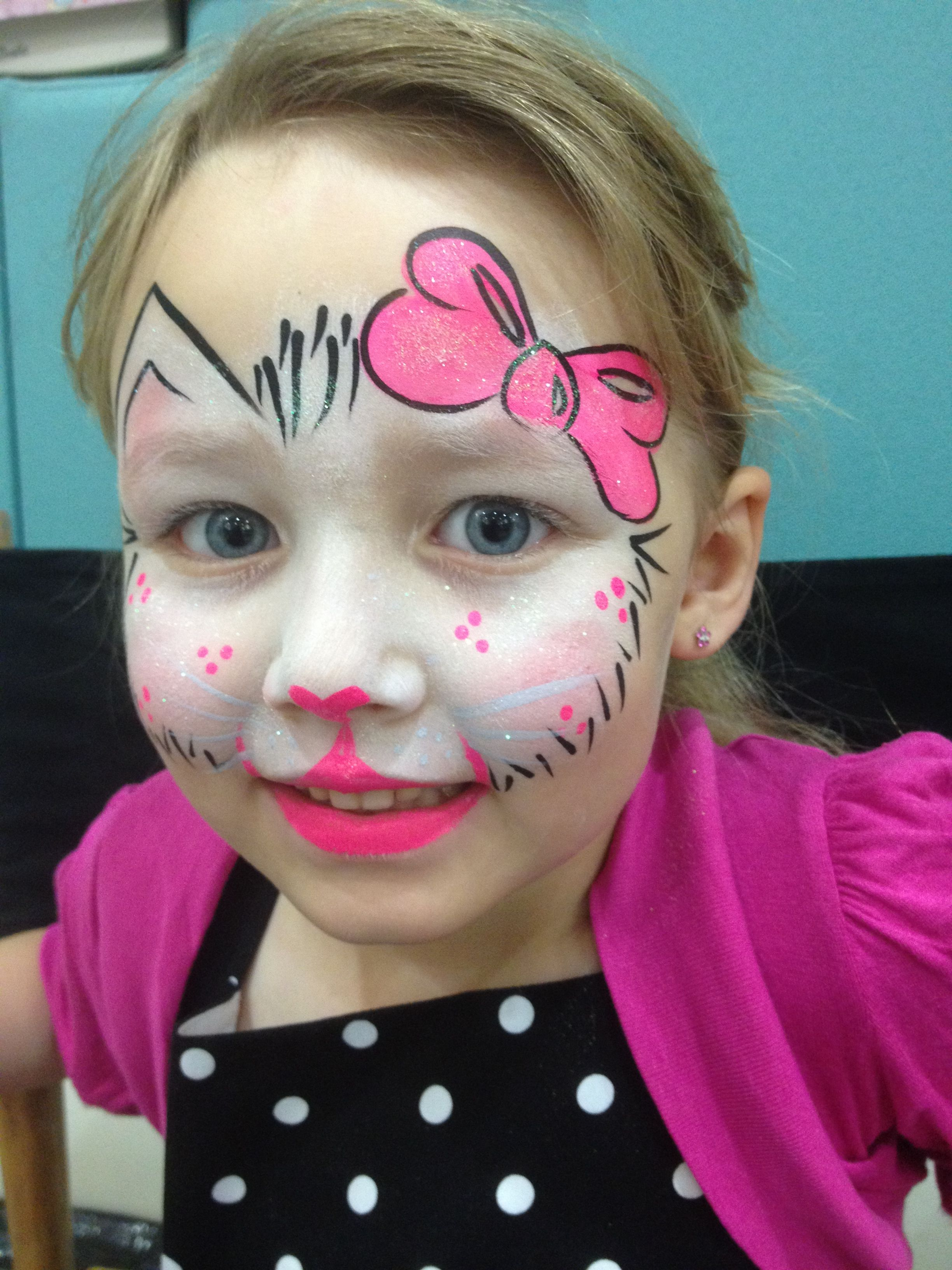 Mai Park Rainbow Kitty Cat Face Painting Halloween Fairy Face Paint Face Painting Designs