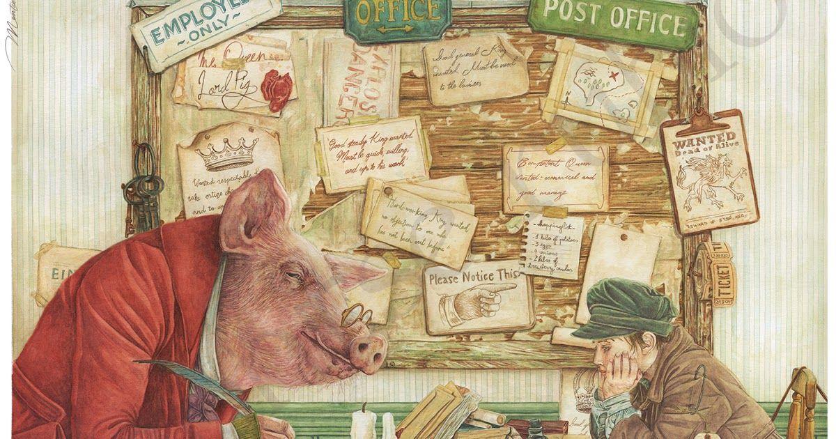 Montse Rubio Illustrator Billy the King