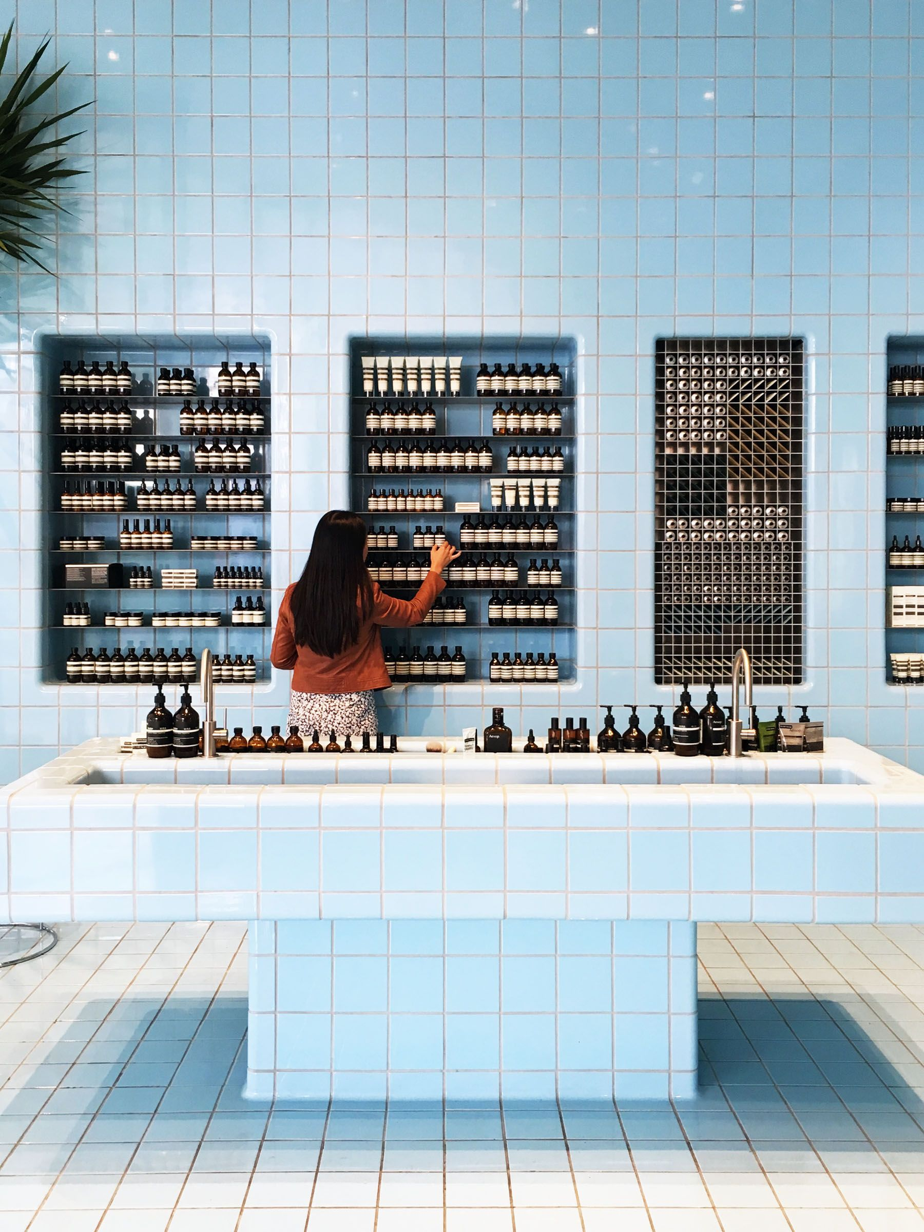 Weekend Los Angeles Travel Diary Shop interior design